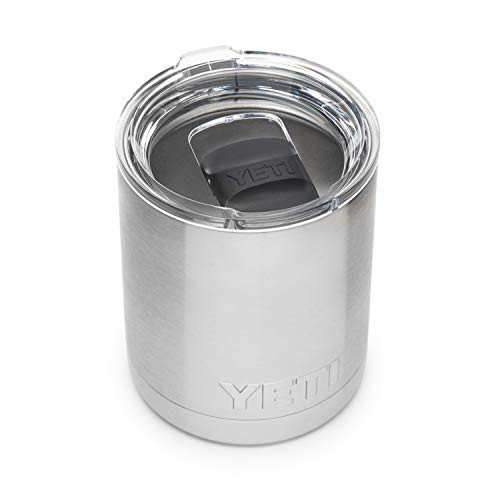 YETI Rambler 10 oz Lowball, Vacuum Insulated, Stainless Steel with...
