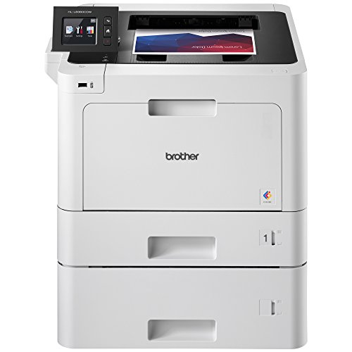 Brother Business Color Laser Printer, HL-L8360CDWT, Wireless Networking,...