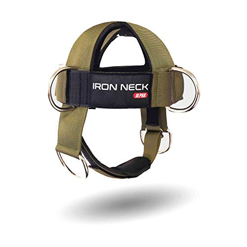 Iron Neck Alpha Harness – Neck Harness Workout Accessory – Head...