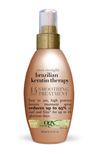 OGX Ever Straight Brazilian Keratin Therapy 14-Day Smoothing Treatment...