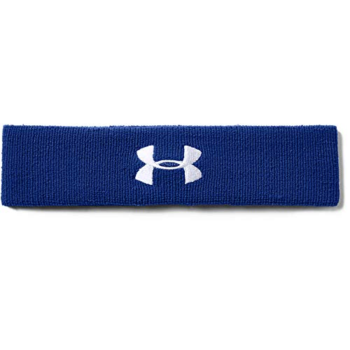 Under Armour Men's Performance Headband , Royal Blue (400)/White , One Size...