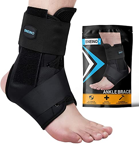 SNEINO Ankle Brace,Lace Up Ankle Brace for Women,Ankle Brace for...
