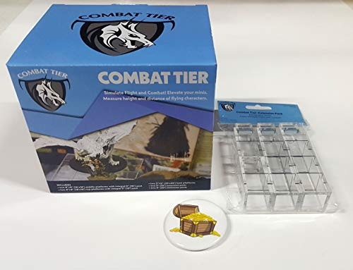 Bundle of Combat Tiers Base Set and Extension Pack Plus Treasure Chest...
