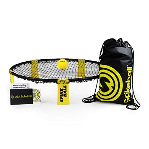 Spikeball Game Set - Played Outdoors, Indoors, Lawn, Yard, Beach, Tailgate,...