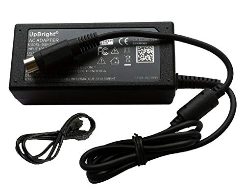 UpBright 12V 4-Pin AC/DC Adapter Compatible with Samsung ADP-4812 ADP-5412A...