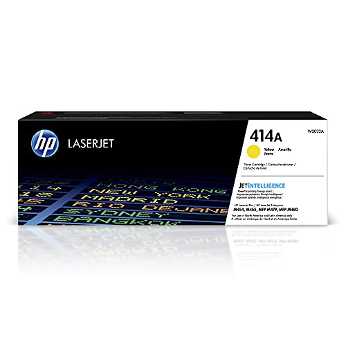 HP 414A | W2022A | Toner-Cartridge | Yellow | Works with HP Color LaserJet...
