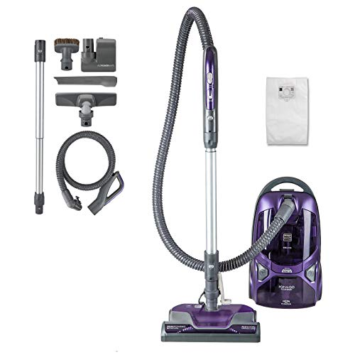 Kenmore 81615 600 Series Pet Friendly Lightweight Bagged Canister Vacuum...