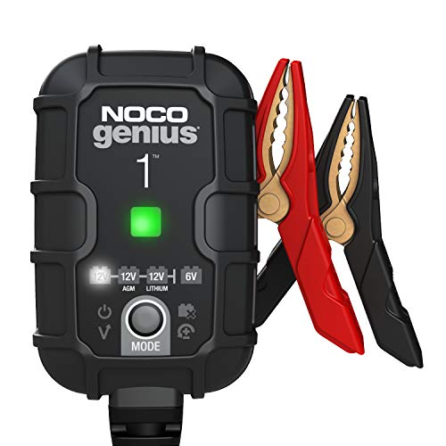 NOCO GENIUS1, 1-Amp Fully-Automatic Smart Charger, 6V and 12V Battery...