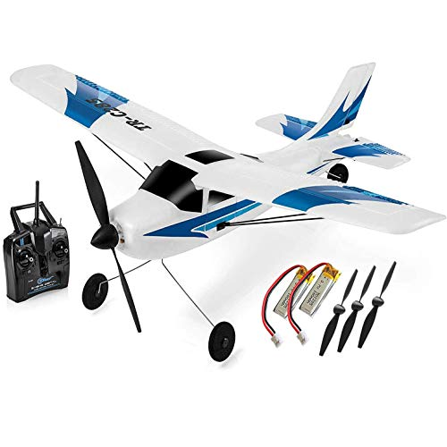 Top Race Rc Plane 3 Channel Remote Control Airplane Ready to Fly Rc Planes...