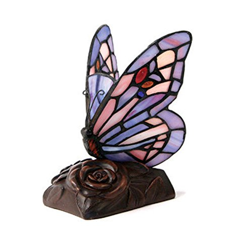 Butterfly Glass Memorial Keepsake for Loved Ones - Extra Small Purple...