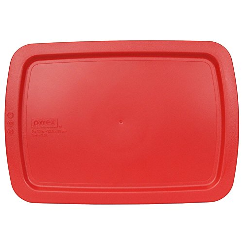 Pyrex Red Plastic Lid for 9' X 13' 3-qt C-233-PC for Oblong Easy Grab Glass...