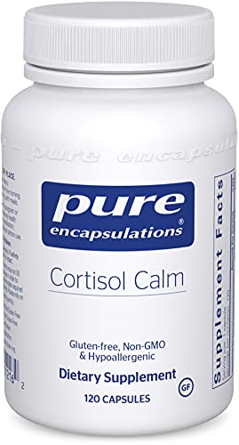 Pure Encapsulations Cortisol Calm   Supplement to Support Relaxation and...