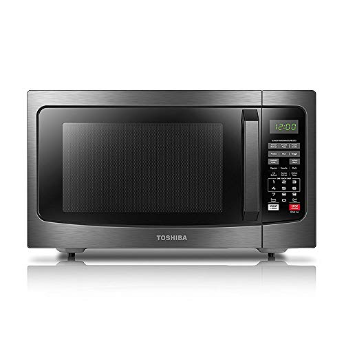 Toshiba EM131A5C-BS Microwave Oven with Smart Sensor Easy Clean Interior,...