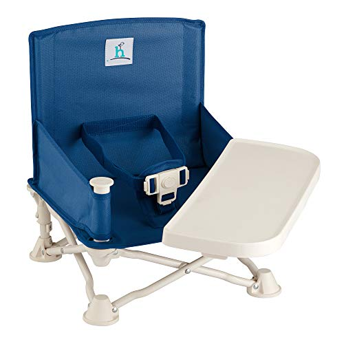 hiccapop Omniboost Travel Booster Seat with Tray for Baby   Folding...