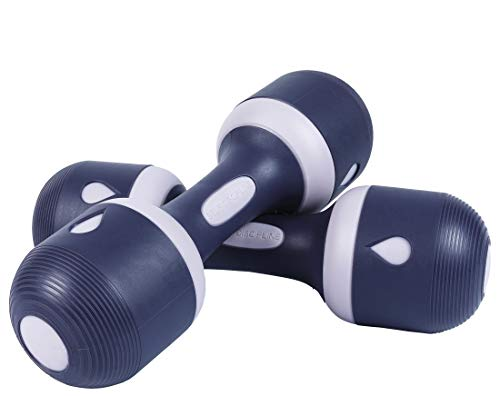 Nice C Adjustable Dumbbell Weight Pair, 5-in-1 Weight Options, Non-Slip...