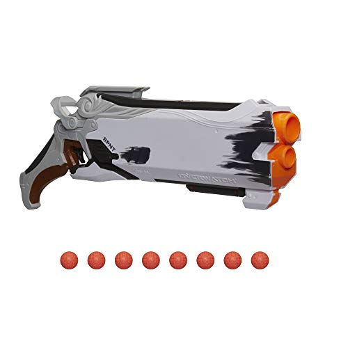 NERF Overwatch Reaper (Wight Edition) & 8 Overwatch Rival Rounds