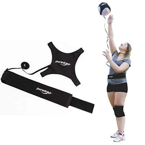 Puredrop Volleyball Training Equipment Aid Great Trainer for Solo Practice...