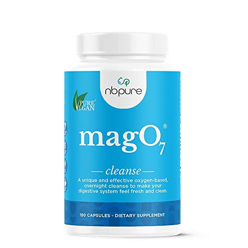nbpure Mag O7 Oxygen Digestive System Cleanser Capsules, 180 Count