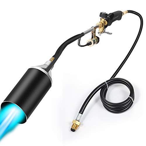Propane Torch Weed Burner Torch,Blow Torch, flamethrower,Weed Torch...