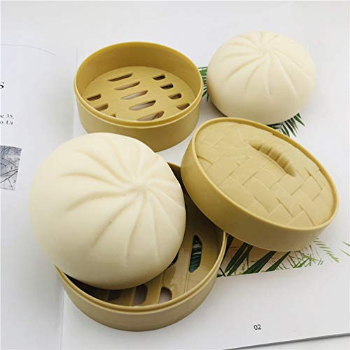 Steamed Stuffed Bun Squeezing Toy Simulation Big Bun Squeezing Toy Relieve...