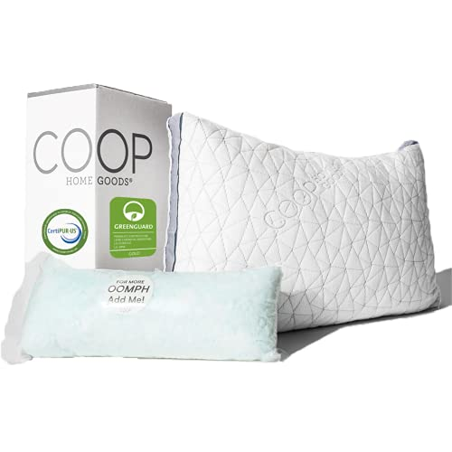 Coop Home Goods Eden Bed Pillow for Sleeping - Plush and Luxurious...