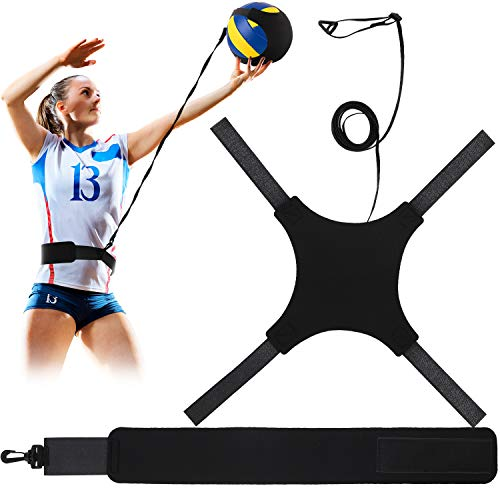 Volleyball Training Equipment Aid, Soccer Solo Practice Trainer for...