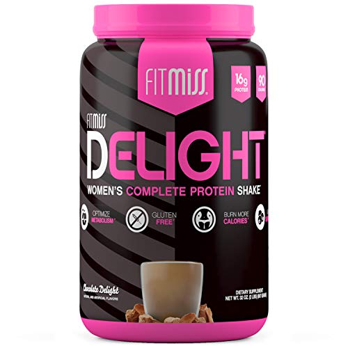 FitMiss Delight Protein Powder, Nutritional Shake, Chocolate Delight, 2...