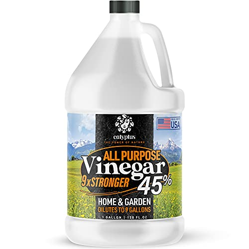 Calyptus 45% Pure Super Concentrated Vinegar   Dilutes to 9 Gallons   9x...