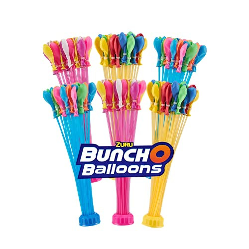 Bunch O Balloons Rapid-Sealing Crazy Color Water Balloons 6 Pack (Amazon...