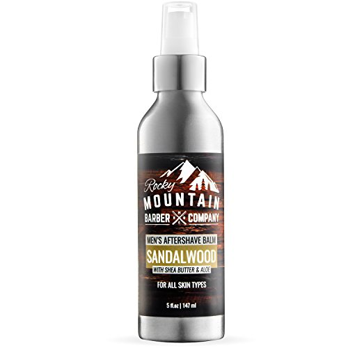 Aftershave Balm For Men – With Natural Sandalwood Essential Oil – 5...