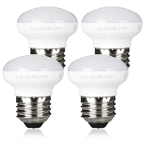 Zorykn R14 LED Reflector Dimmable Floodlight, 4W(4 Pack), 25W Equivalent...