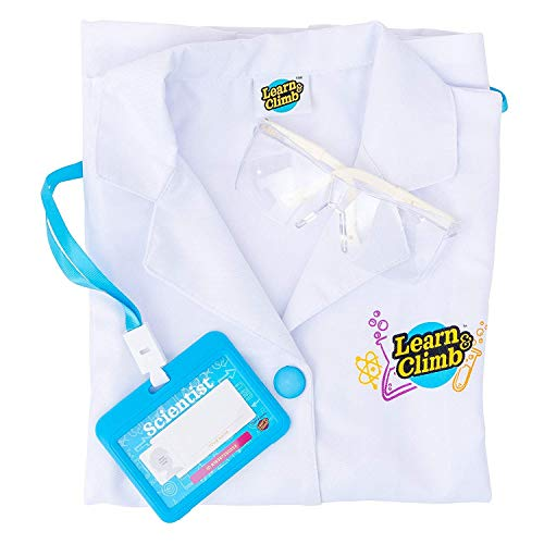 Lab Coat for Kids - Children's lab Coat with Goggles & Personalized ID...