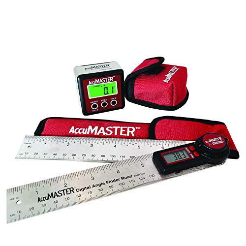 Calculated Industries 7489 AccuMASTER Value Pack – 2-in-1 Digital Angle...