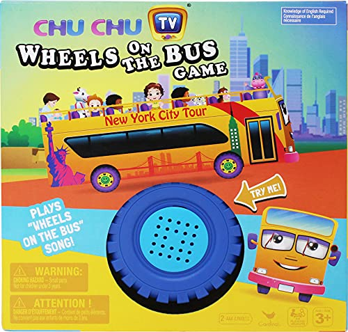 Spin Master Games Wheels on The Bus Matching Game, Multicolor (6054144)