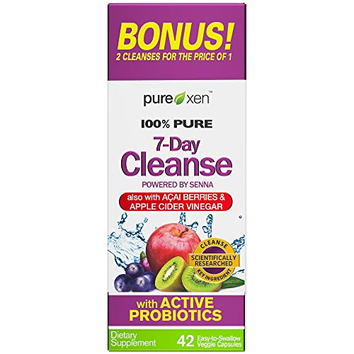Detox Cleanse   Purely Inspired 7 Day Cleanse and Detox Pills   Acai Berry...