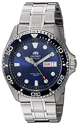 ORIENT Men's Japanese Automatic / Hand-Winding Stainless Steel 200 Meter...