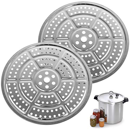 2-Pack 11-Inch Pressure Cooker Canner Rack / Canning Rack for Pressure...