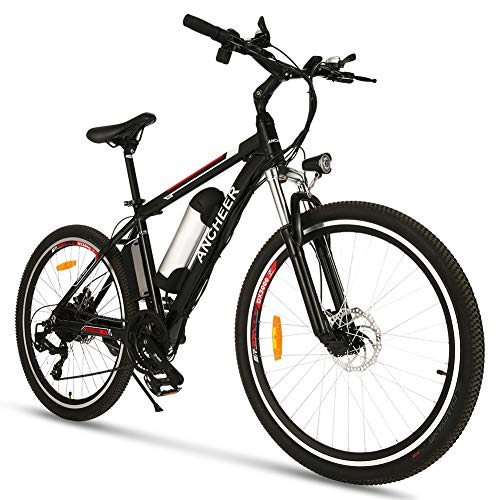 26 inch Electric Bike for Adults, Commuting Ebike with 8Ah Battery, 250W...