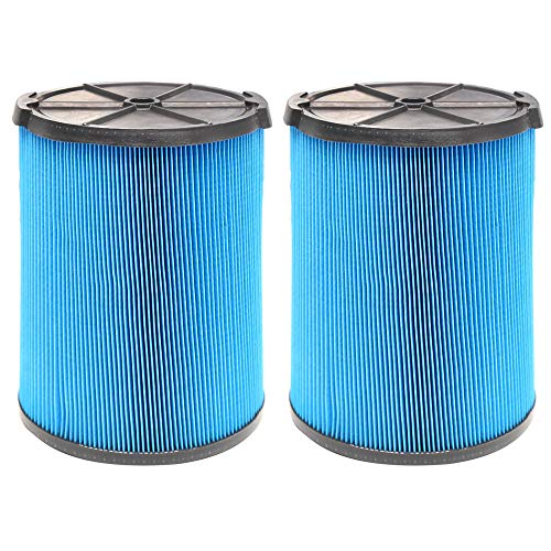 2 Pack VF5000 Replacement Filter for Ridgid Shop Vac 6-20 Gallon Wet Dry...