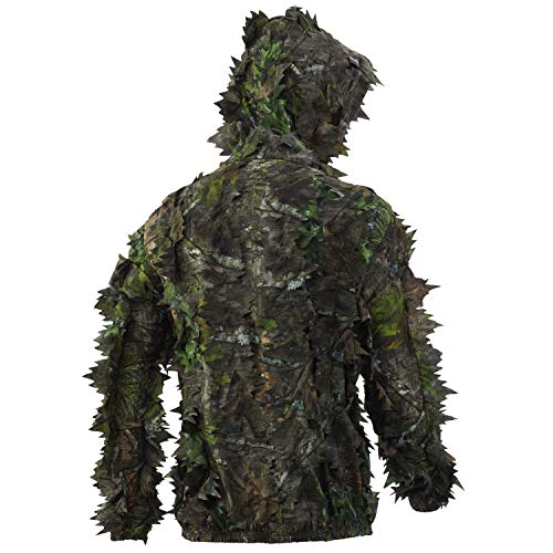 Nomad Mens Nwtf Leafy 1/4 Zip   3D Leafy Pullover for Turkey Hunting, Mossy...