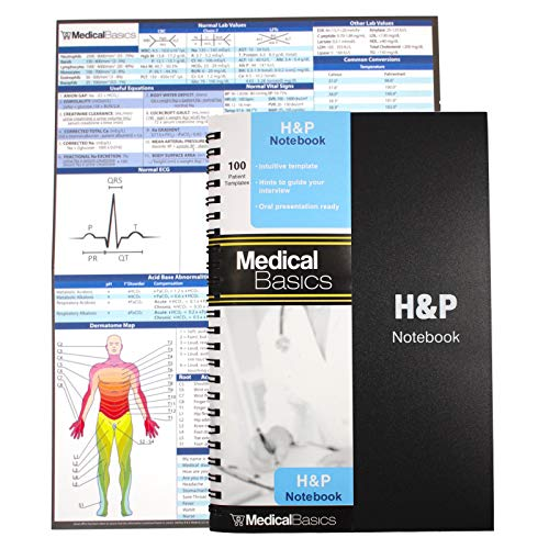 H&P Notebook - Medical History and Physical Notebook, 100 Medical templates...