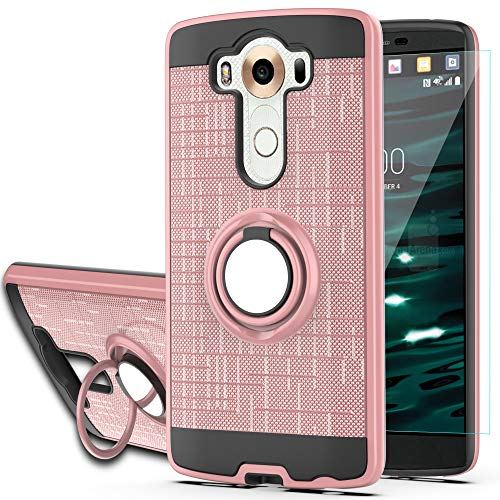 YmhxcY Phone Case Compatible with LG V10 Case with HD Phone Screen...