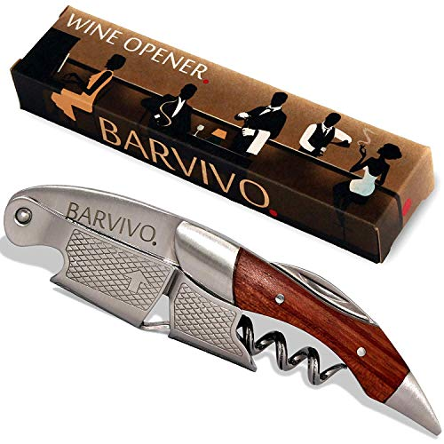 Barvivo Professional Waiters Corkscrew This Wine Opener is Used to Open...