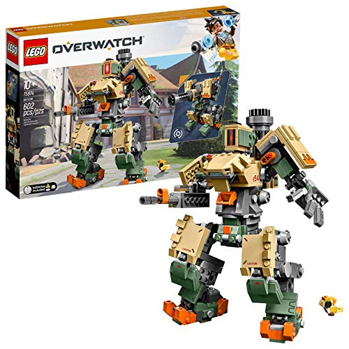 LEGO 6250958 Overwatch 75974 Bastion Building Kit, Overwatch Game Robot...