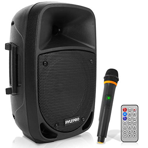 800W Portable Bluetooth PA Speaker - 8'' Subwoofer, LED Battery...