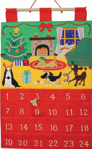 Dog Gone It Fabric Advent Calendar (Countdown to Christmas)
