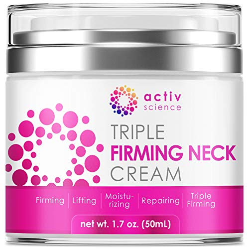 ACTIVSCIENCE Neck Firming Cream, Anti Aging Moisturizer for Neck &...