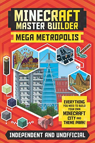 Minecraft Master Builder Mega Metropolis: Everything You Need to Build Your...