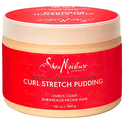 Sheamoisture Curl Stretch Pudding for Curls Red Palm Oil and Cocoa Butter...