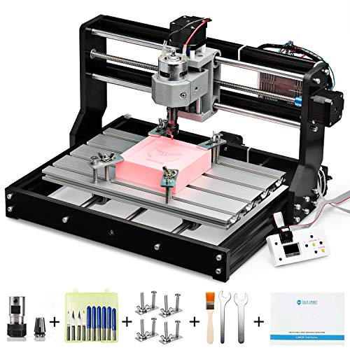 Genmitsu CNC 3018-PRO Router Kit GRBL Control 3 Axis Plastic Acrylic PCB...